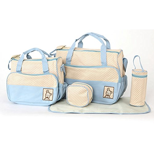 museya-5-in-1-multi-function-large-capacity-baby-diaper-nappy-changing-pad-travel-mummy-bag-tote-han