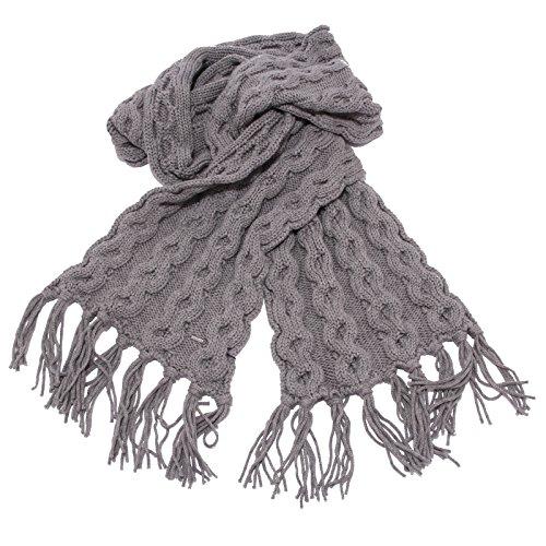 Donna Grey 1061w Sciarpa Scarf Woman Grigio Wool Woolrich wtEqAdw