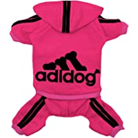 Rdc Pet Clothes Dog Hoodies Dog Sweater 4 Legs Jumpsuit Warm Sweat Shirt Cotton Jacket Coat for Small Dog Medium Dog…