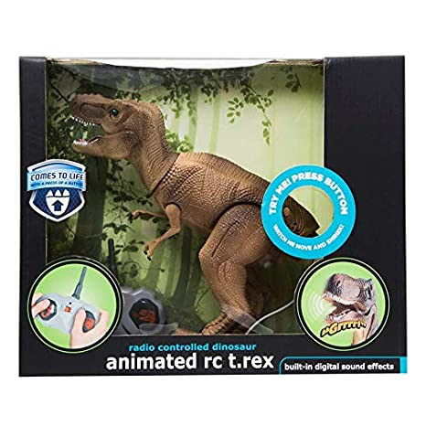 Amazon Black Series Animated Radio Control T Rex Dinosaur RC