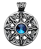Nordic Lights Ring of the Heavens Pendant for Leadership and Advancement Amulet Talisman Charm