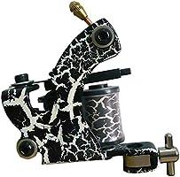 Máquina de tatuaje Set 4 pistola 40 tinta fuente de alimentación ...