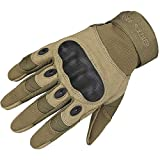 FREE SOLDIER Hard Knuckle Tactical Gloves for Combat Training Army Shooting Outdoor Fullfinger Gloves