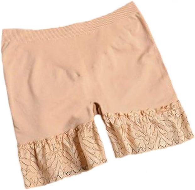 Zinmuwa Mujer Complementos Mitad Slip Bajo Falda De Encaje De ...