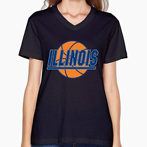 womens-illinois-fighting-illini-black-v-neck-t-shirt