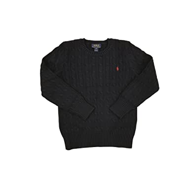 Amazon Polo Ralph Lauren Little Boys Cable Knit Sweater Polo