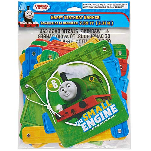 Thomas and Friends Happy Birthday Party Banner 7.59 Feet -