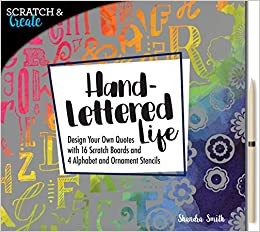 Buy Scratch Create Hand Lettered Life Design Your Own Quotes