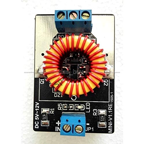 DP-iot New 5v-12v ZVS Induction Heating Tesla Coil Driver Board Jacob's Ladder Power Supply