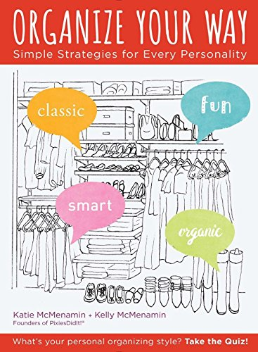 Organize Your Way: Simple Strategies for Every Personality (Squirrel Storage Blue)