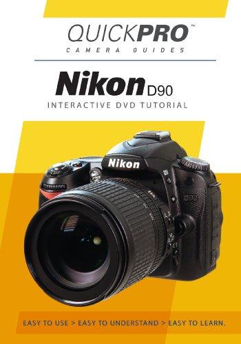Nikon D90 Instructional DVD by QuickPro Camera ()