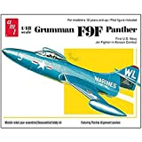 AMT Grumman F9F Panther Fighter Jet 1/48 Scale Airplane Model Building Kit by AMT