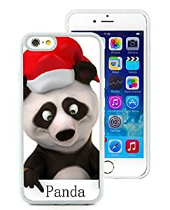 Popular Sell Design iPhone 6 Case,Christmas Panda White iPhone 6 4.7 Inch TPU Case 2