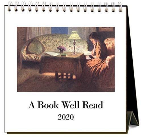 Easel Calendar 2020 - A Book Well Read 2020 Calendar