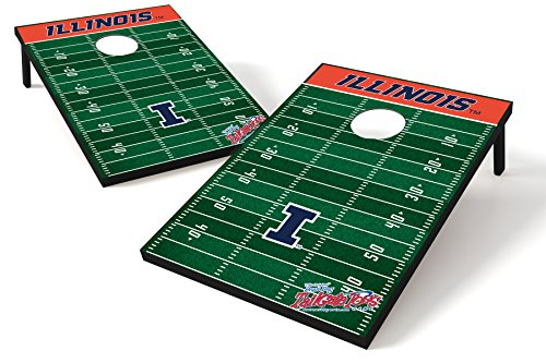 NCAA College Illinois Fighting Illini Tailgate Toss Game - Illinois Fighting Illini Bean Bag