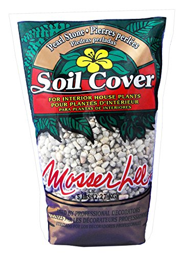 Mosser Lee ML1122 Pearl Stone Soil Cover, 5 lb. (Decorative Soil Cover)