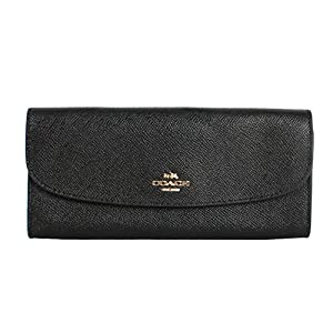 Coach F59949 Wallet in Crossgrain Leather