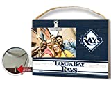 KH Sports Fan Clip It Colored Logo Photo Frame Tampa Bay Rays