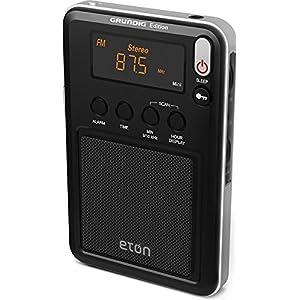 Eton Mini Compact AM/FM/Shortwave Radio, Black, NGWMINIB