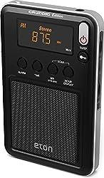 Eton Mini Compact Amfmshortwave Radio, Black, Ngwminib