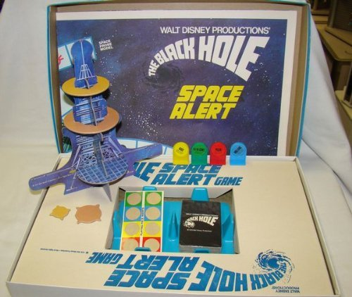 Walt Disney the Black Hole Space Alert Game by Whitman Coins