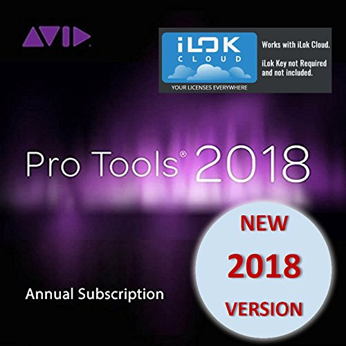 Avid Pro Tools 2018 Annual Subscription (Download Card Only - Activate with iLok Cloud) by Avid