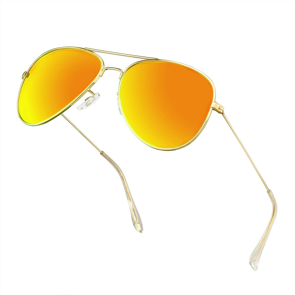 Polarized Aviator Sunglasses for Men//Women Metal Mens Sunglasses Driving Sun Glasses