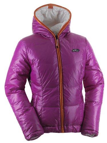 KJUS Women's Backflip Jacket FUCHSIARED-WHT XXL