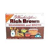 G Washington's Seasoning and Broth, Rich Brown, 1.1 Ounce by G Washington's