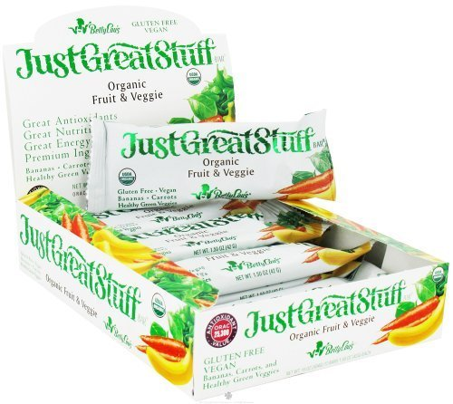 Betty Lou's Organic Fruit & Veggie Bars 12 Bar(S) by Betty Lou's