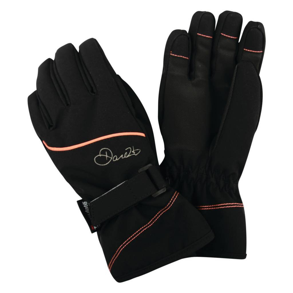 Dare 2b Childrens Instruct Insulated and Waterproof Girls Winter Ski Gloves