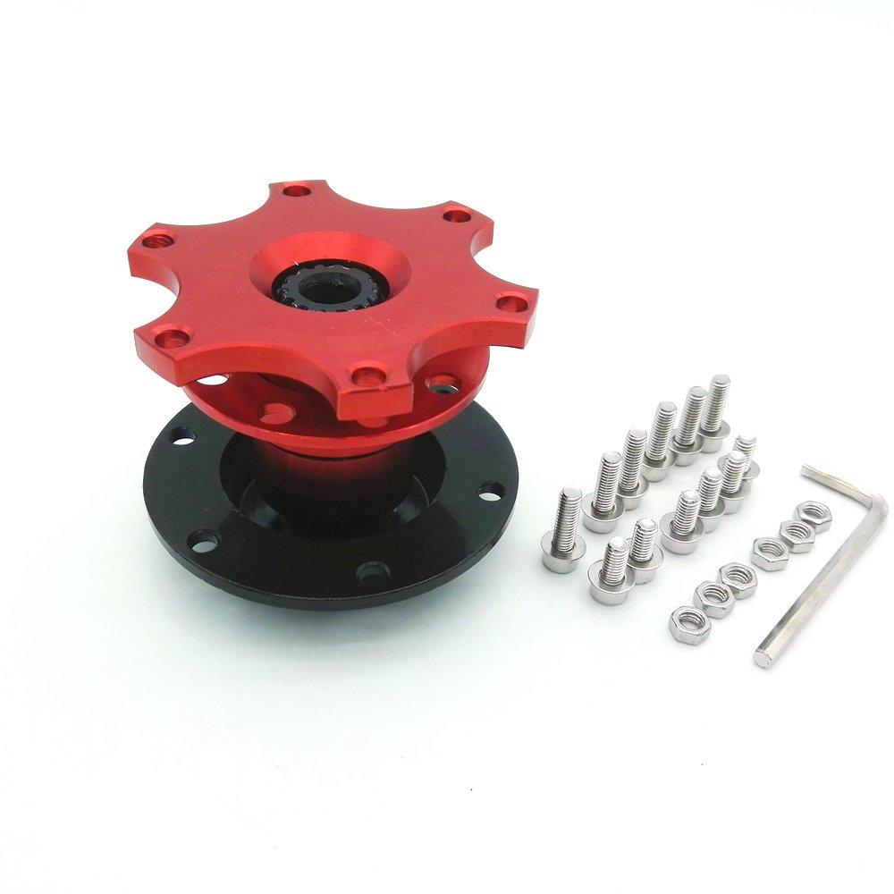 Heinmo Universal Car Steering Wheel Quick Release Hub Racing Adapter Snap Off Boss Kits