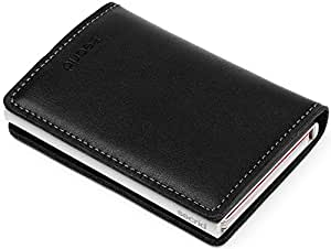 Secrid SLIM Wallet Genuine Leather Original Black RFID Card Case Max 12 Cards