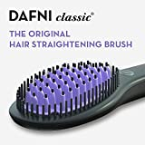 DAFNI The Original Hair Straightening Ceramic Brush – 120V for use in US & Canada Only