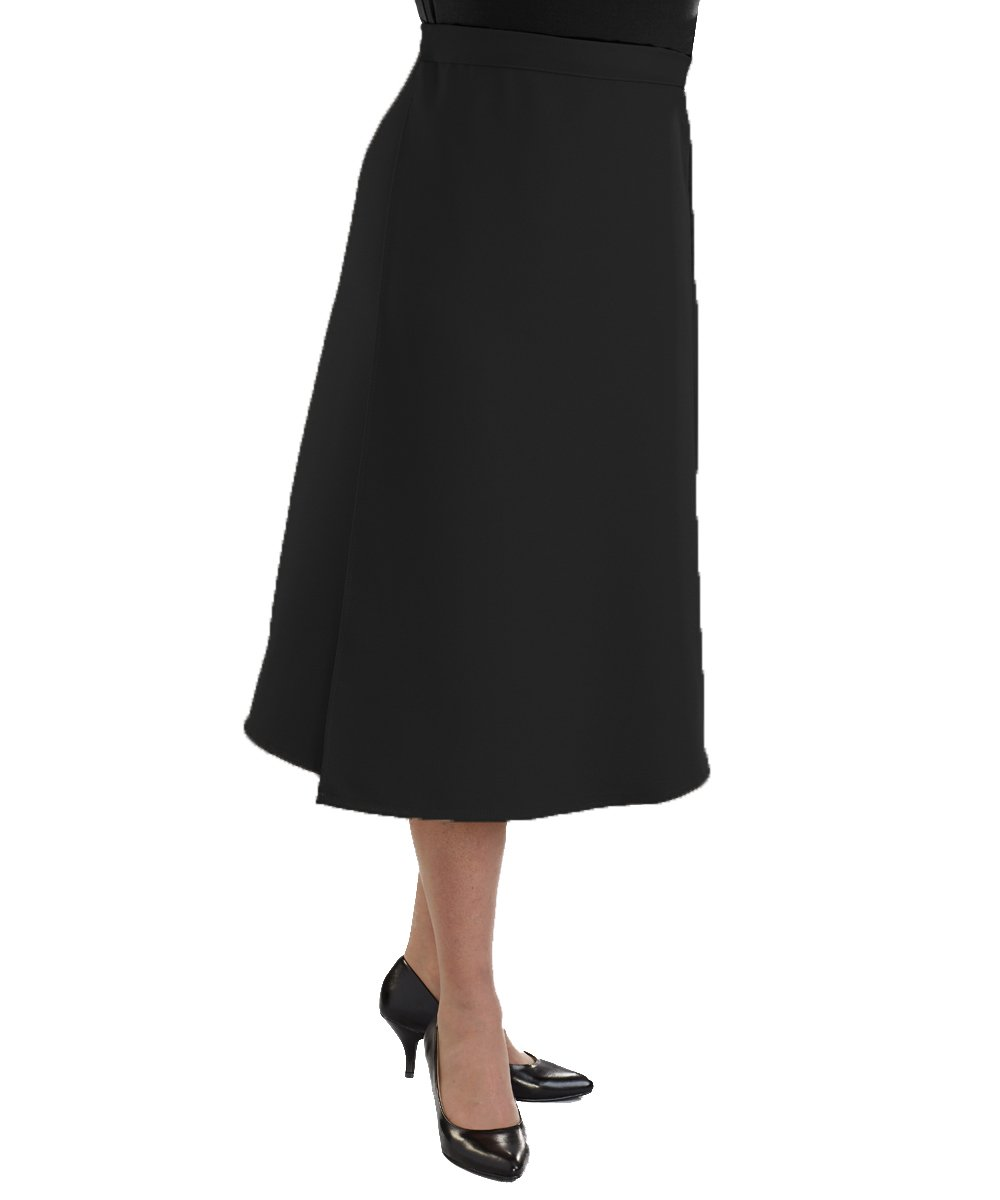 Adaptive Wrap Skirt with Adjustable Closures - Black XL by Silvert's