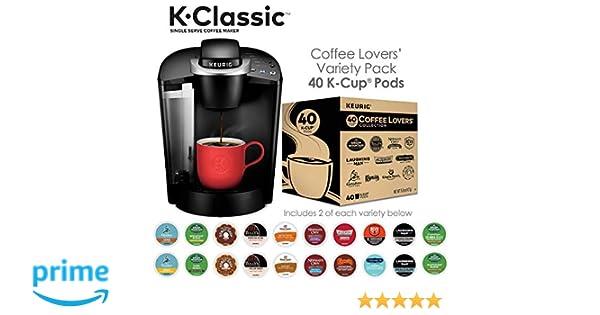 Amazoncom Keurig K55k Classic Single Serve Coffee Maker 40ct