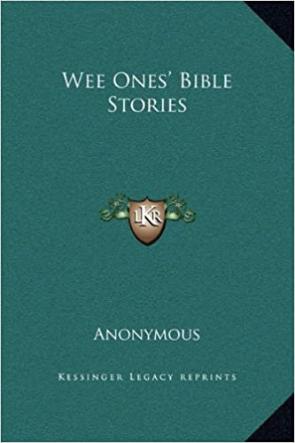 Wee Ones' Bible Stories