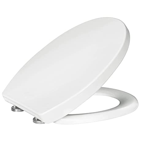 WOLTU Soft Close Quick Release Toilet Seat,Heavy Duty Toilet Lid Cover for Bathroom