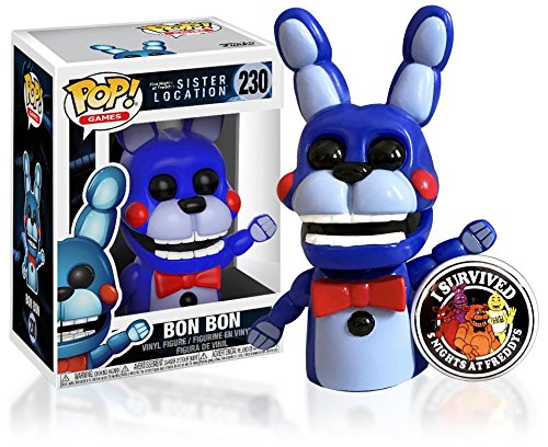 Exotic Butter (Funko Pop Five Nights at Freddy's Sister Location - Bon Bon Exclusive Vinyl Figure in Protective Box with FNAF Pin #230)