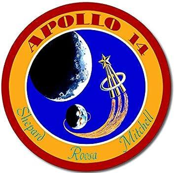 NASA Logo Insignia Space American Vinyl Round Vintage Apollo Generic Seal Sticker