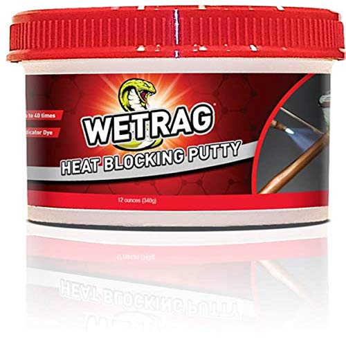 Refrigeration Technologies RT400P Viper Wetrag Heat Blocking Putty Jar (1), 12 oz. from Refrigeration Technologies