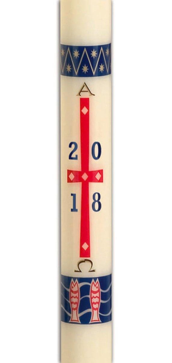 CBCS 31507 No. 15 Benedictine Paschal Candle