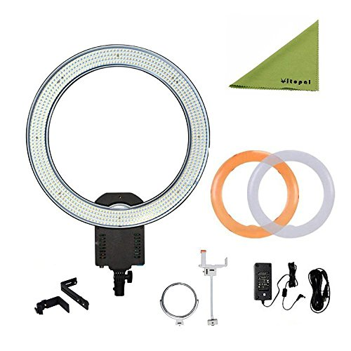 NanGuang CN-R640 19'' Outer Photography Video Studio 640 LED CRI 95 5600K Dimmable Ring Light for Makeup & Beauty Photography/Video by Nanguang by NanGuang
