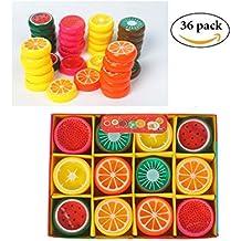 SEY6 Fruit Slime Kid's Magic Slime Toys Birthday Party Favors 36 pcs