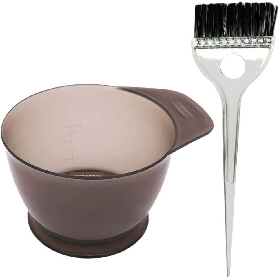 HEALIFTY El kit profesional del teñido del color del pelo del salón con el teñido teñe los cepillos del tinte 2pcs