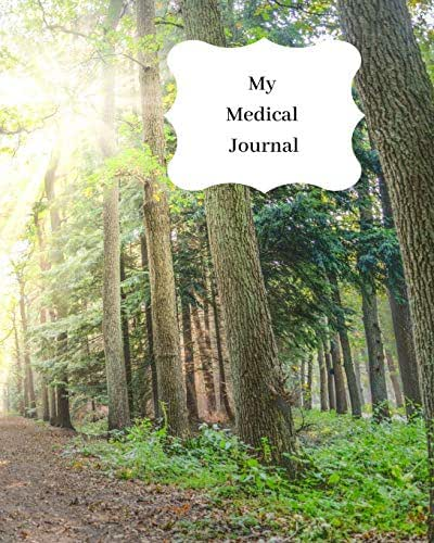 My Medical Journal: Record all your medical details, medication, jabs, hospital appointments, treatment and more. Track your health & lifestyle. Forest trees & greenery design