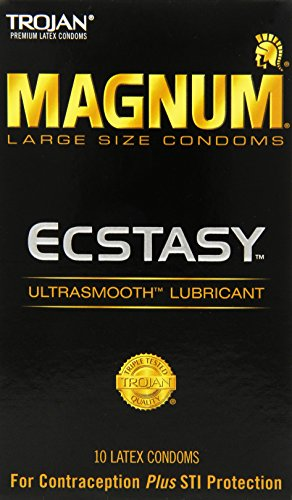 MAGNUM ECSTASY Ultrasmooth Lubricant,10ct