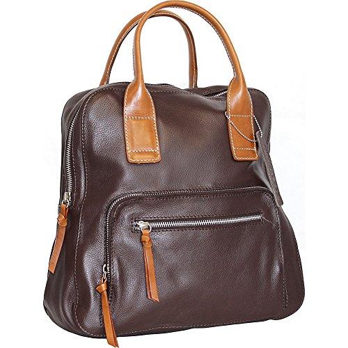 nino-bossi-lily-petal-backpack-handbag-chocolate