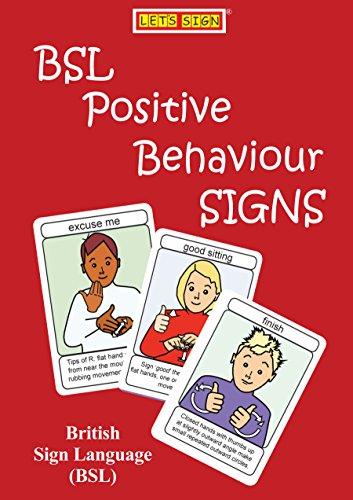 BSL Positive Behaviour Signs: British Sign Language (Let's Sign BSL)