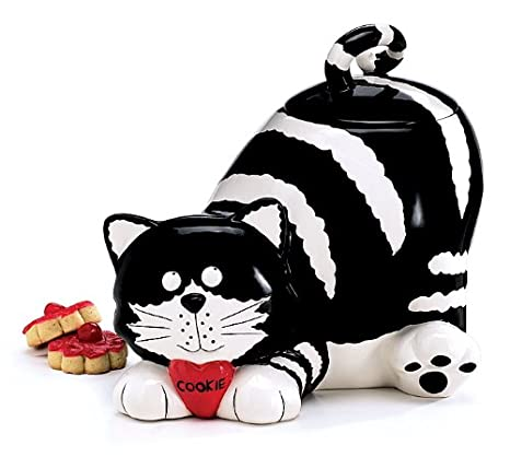 Relatively Amazon.com: Chester The Cat/Kitty Cookie Jar Food Container  FI93
